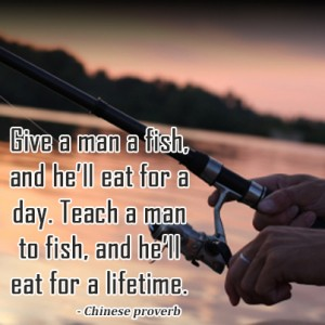 teach-fishing