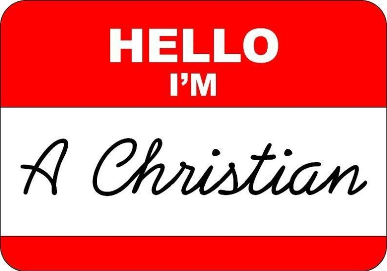 sign - Im a christian